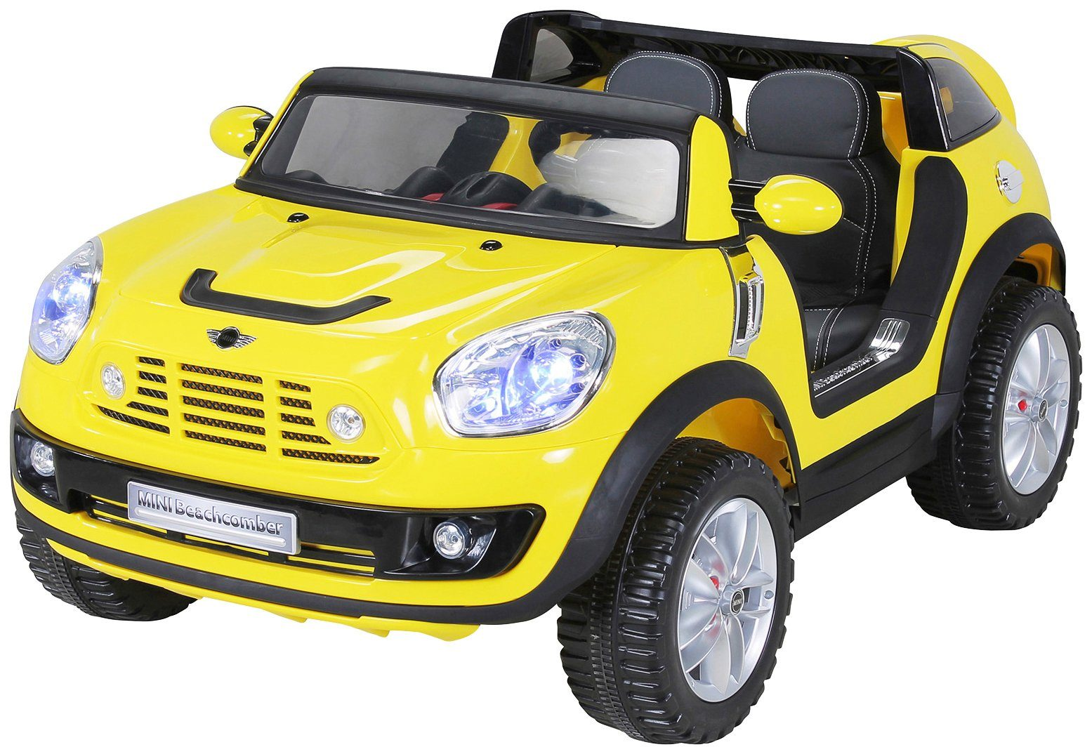 ACTIONBIKES MOTORS Elektroauto »BMW Mini Beachcomber XXL«, für Kinder ab 3 Jahre, 12 Volt