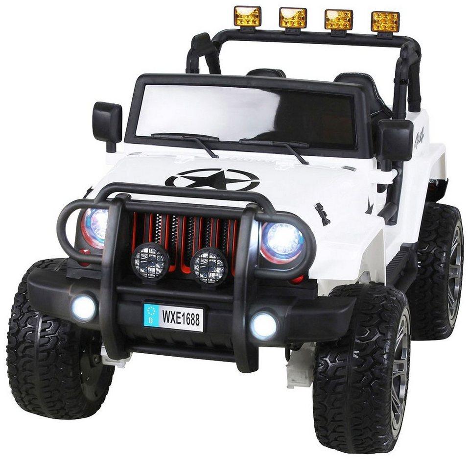 actionbikes motors elektroauto wrangler offroad jeep allrad f r kinder ab 3 jahre 12 volt. Black Bedroom Furniture Sets. Home Design Ideas