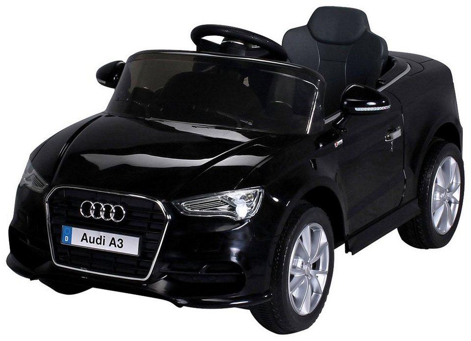 actionbikes motors elektroauto audi a3 f r kinder ab 3 jahre 12 volt online kaufen otto. Black Bedroom Furniture Sets. Home Design Ideas