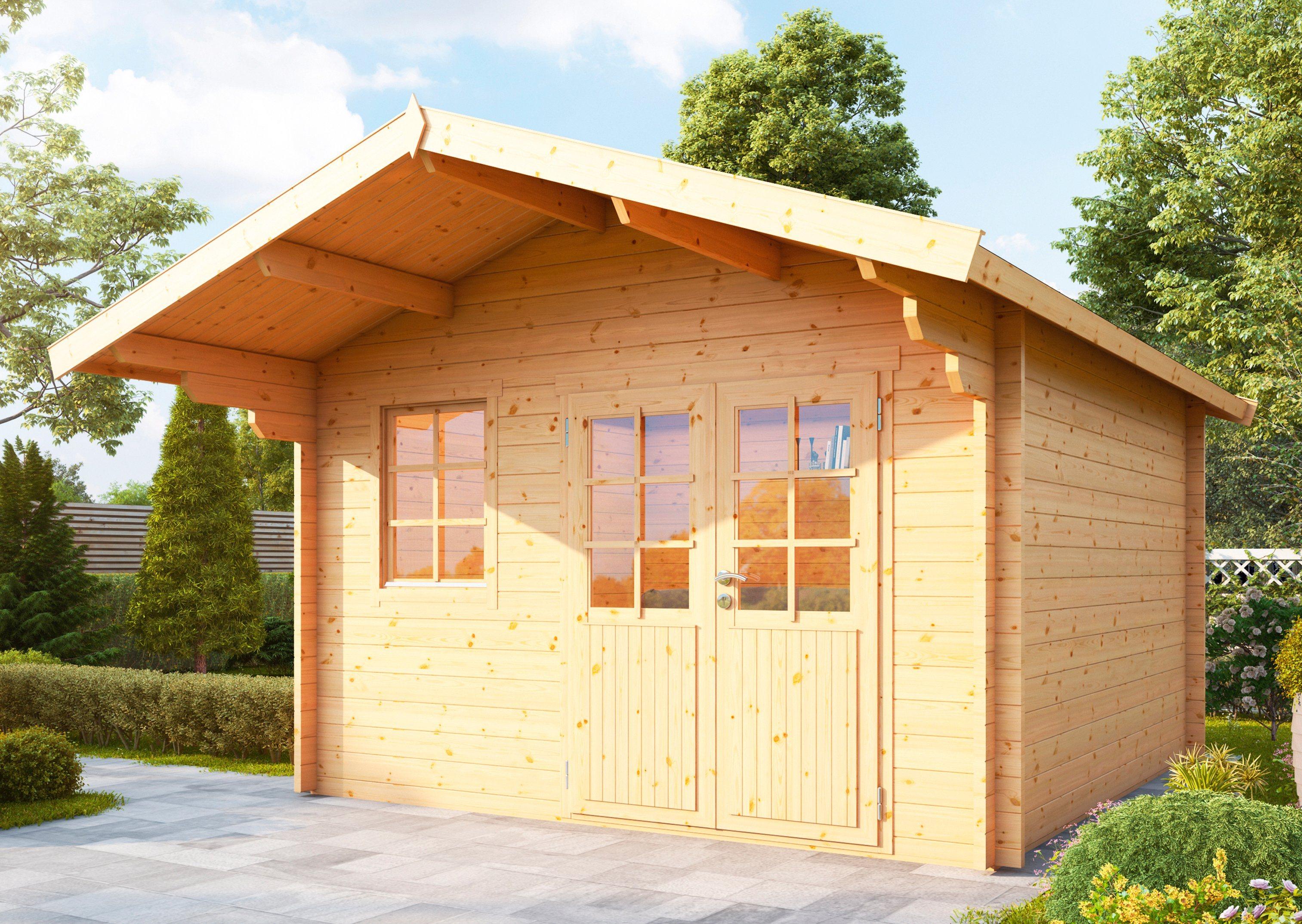 WOLFF Gartenhaus »Lisa 44-B XL«, BxT: 422x500 cm | Garten > Gartenhäuser | Wolff