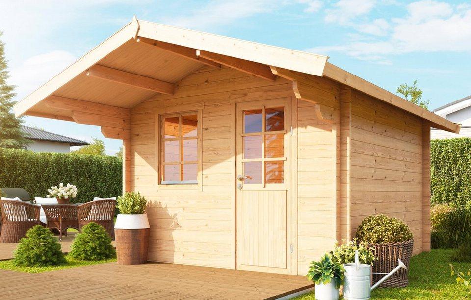 wolff gartenhaus skagen 44 b bxt 360x450 cm inkl fu boden online kaufen otto. Black Bedroom Furniture Sets. Home Design Ideas