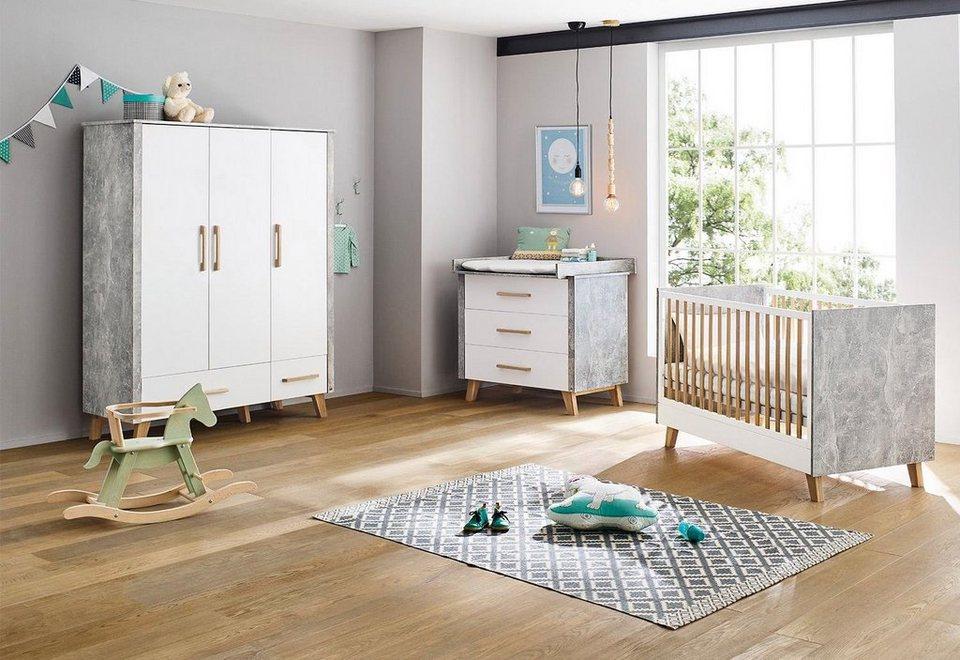 Pinolino Babyzimmer Set, Kinderzimmer, »Apollo, breit/groß« (3-tlg.) online  kaufen | OTTO