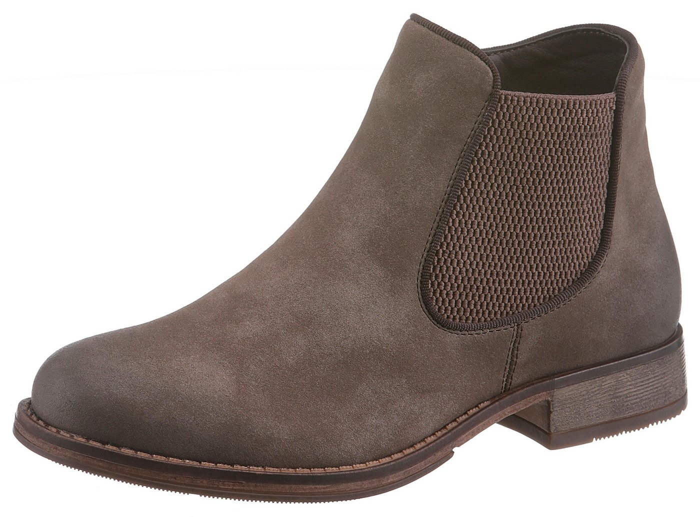Rieker Chelseaboots im modernen Used-Look | Schuhe > Boots > Chelsea-Boots | Braun | Rieker