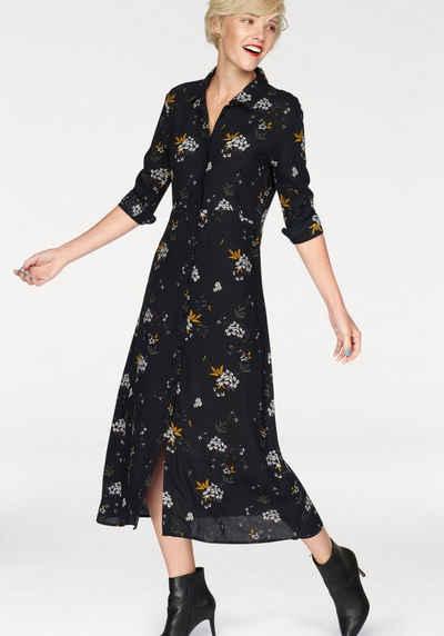 2a54e2ad0d28 Blendshe Blusenkleid »Feline« mit modischem Blumenprint