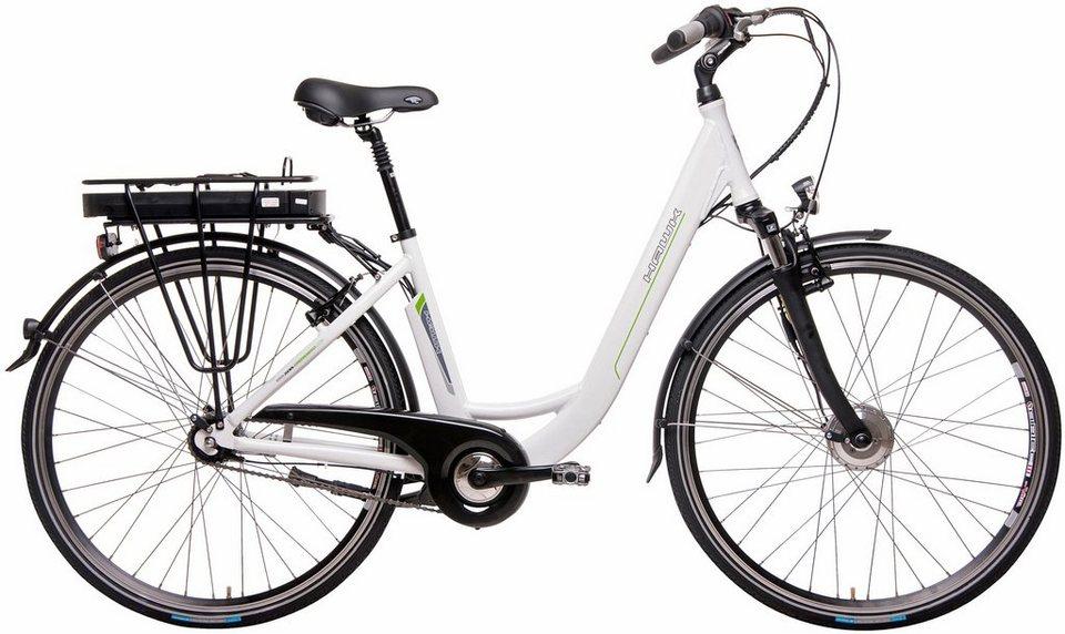 hawk bikes e bike city wave 7 gang shimano. Black Bedroom Furniture Sets. Home Design Ideas
