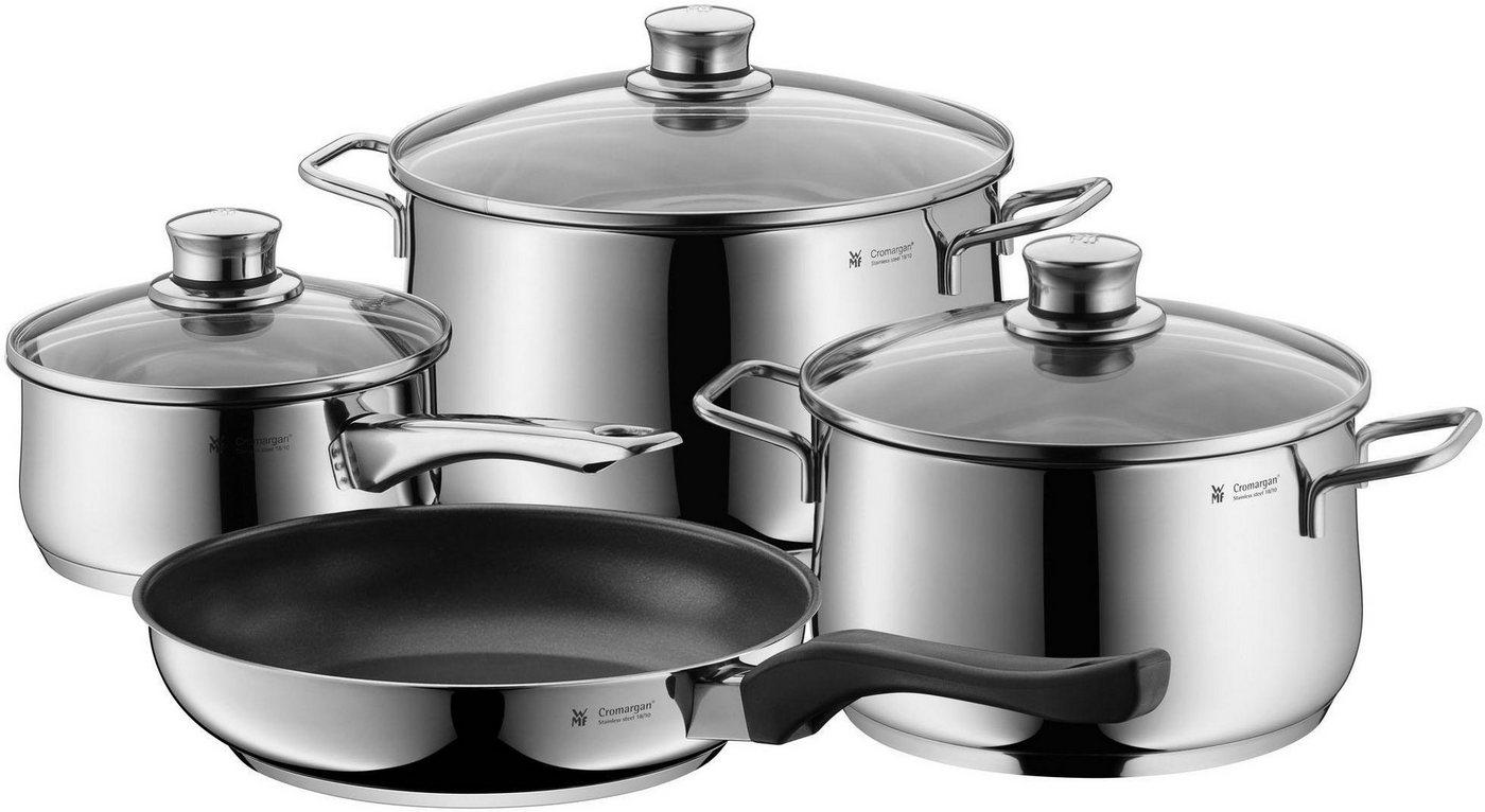 WMF Topf-Set »Diadem Plus«, Cromargan® Edelstahl Rostfrei 18/10, (Set, 7 tlg), Induktion | Küche und Esszimmer > Kochen und Backen > Töpfe | WMF