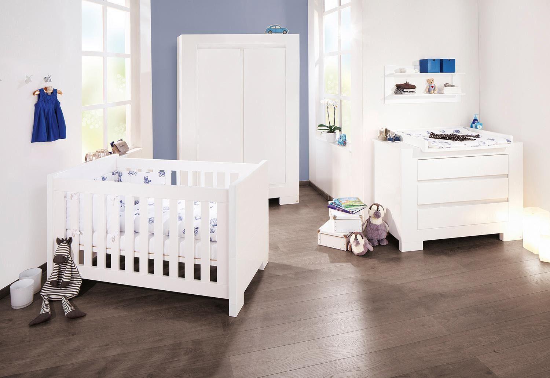 Pinolino Babyzimmer, 2-türig, Kinderzimmer, »Arctica, breit« (3-tlg.)