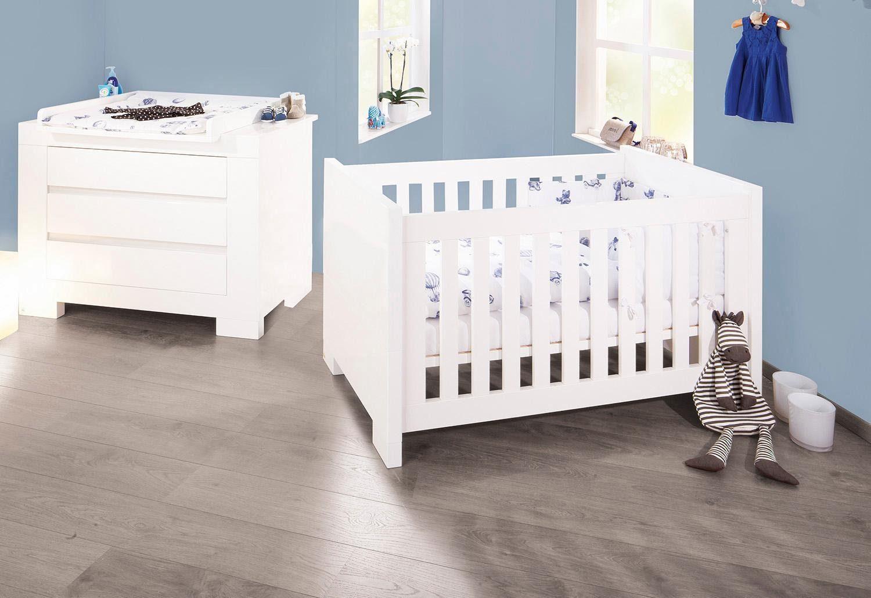 Pinolino Babyzimmer Sparset, »Arctica, breit« (2-tlg.)