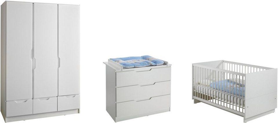 Geuther babyzimmer set 3 tlg kinderzimmer fresh wei online kaufen otto - Babyzimmer geuther ...