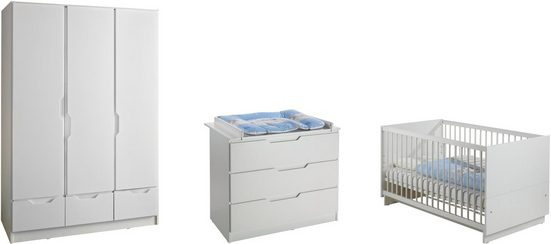 Geuther Babyzimmer-Komplettset »FRESH weiß, 3-tlg.«, (Set, 3-tlg)
