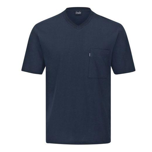 Ammann Pyjamaoberteil »Mix & Match Schlafanzug Shirt kurzarm« Oberteil