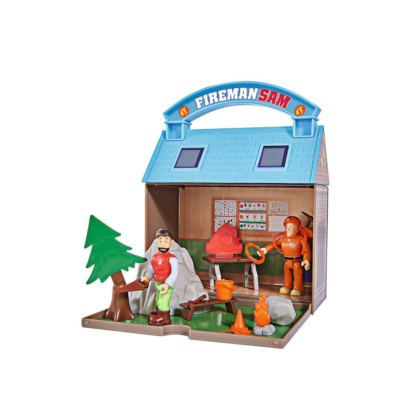 SIMBA Sam Bergrettungszentrum mit 2 Figuren