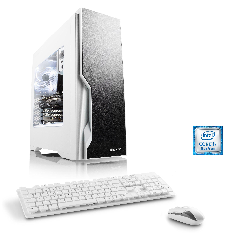 CSL Gaming PC | Intel Core i7-8700 | GTX 1060 | 16GB DDR4 | SSD »HydroX T9870 Wasserkühlung«