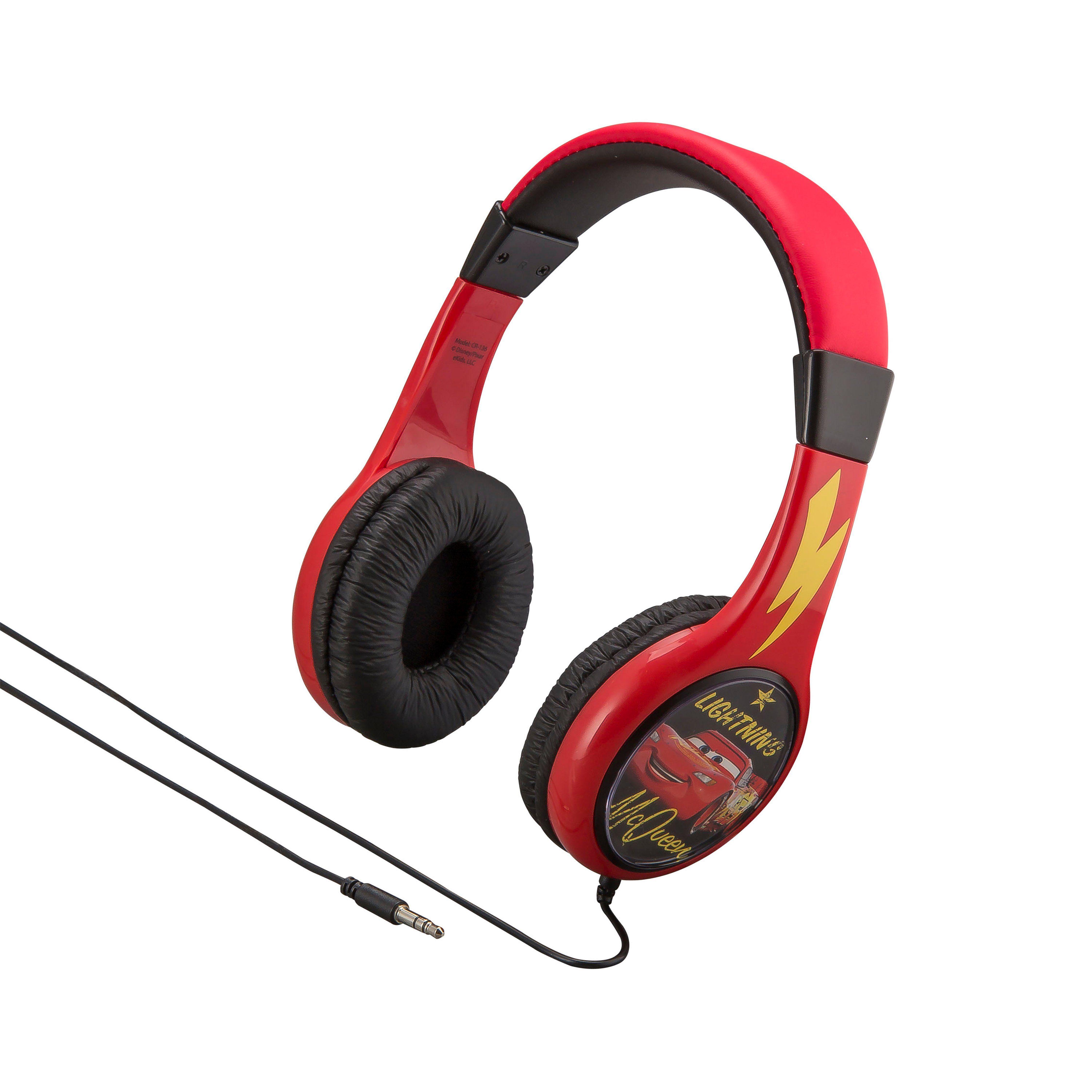 eKids Kopfhörer für Kinder im Cars Design »CR-136«