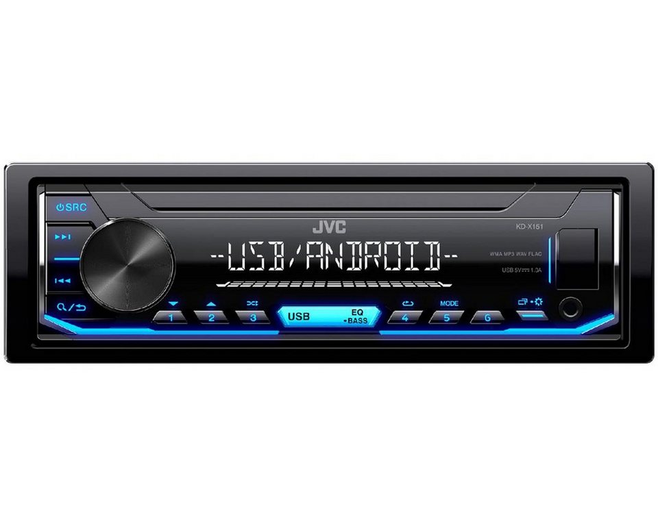 JVC 1-DIN Digital Media Receiver mit UKW-Radio, USB »KD-X151« online ...