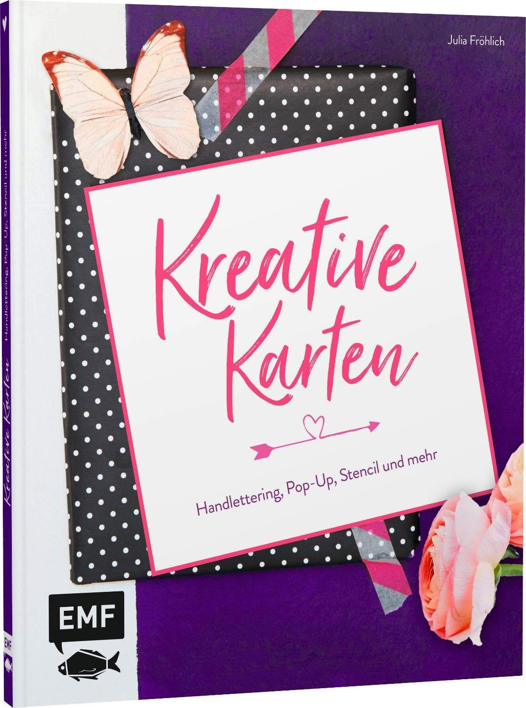 """EMF Buch """"Kreative Karten"""" 72 Seiten"""