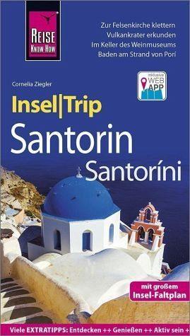 Broschiertes Buch »Reise Know-How InselTrip Santorin / Santoríni«