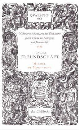 Broschiertes Buch »Von der Freundschaft«