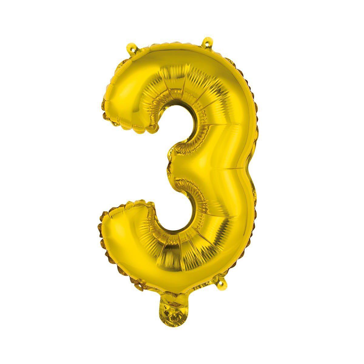 """BUTLERS UPPER CLASS »Folienballon """"3""""«"""