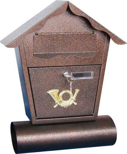 HTI-Living Briefkasten mit Zeitungsrolle