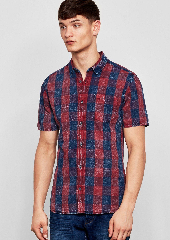 Q/S designed by Extra Slim: Hemd mit Wascheffekt | Bekleidung > Hemden > Sonstige Hemden | Q/S designed by