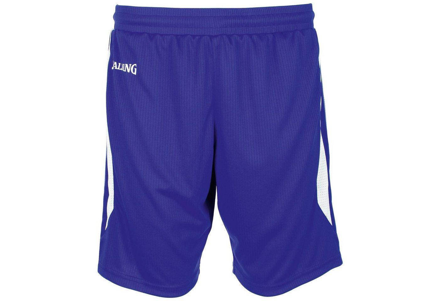 Spalding 4her III Basketballshort Damen | Sportbekleidung > Sporthosen > Basketballshorts | Blau | Spalding