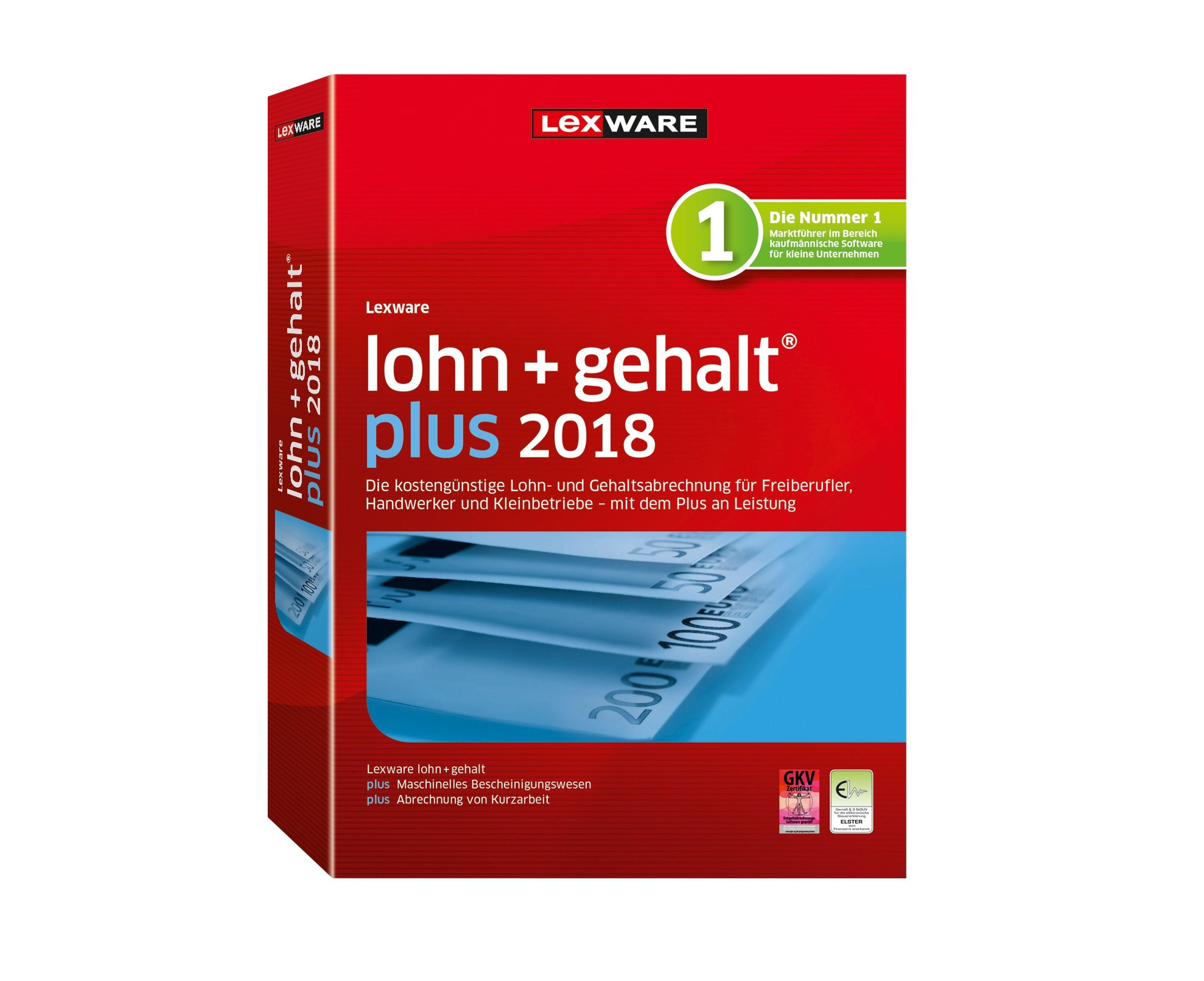 LEXWARE Lohn + Gehalt plus »Jahresversion (365-Tage)«