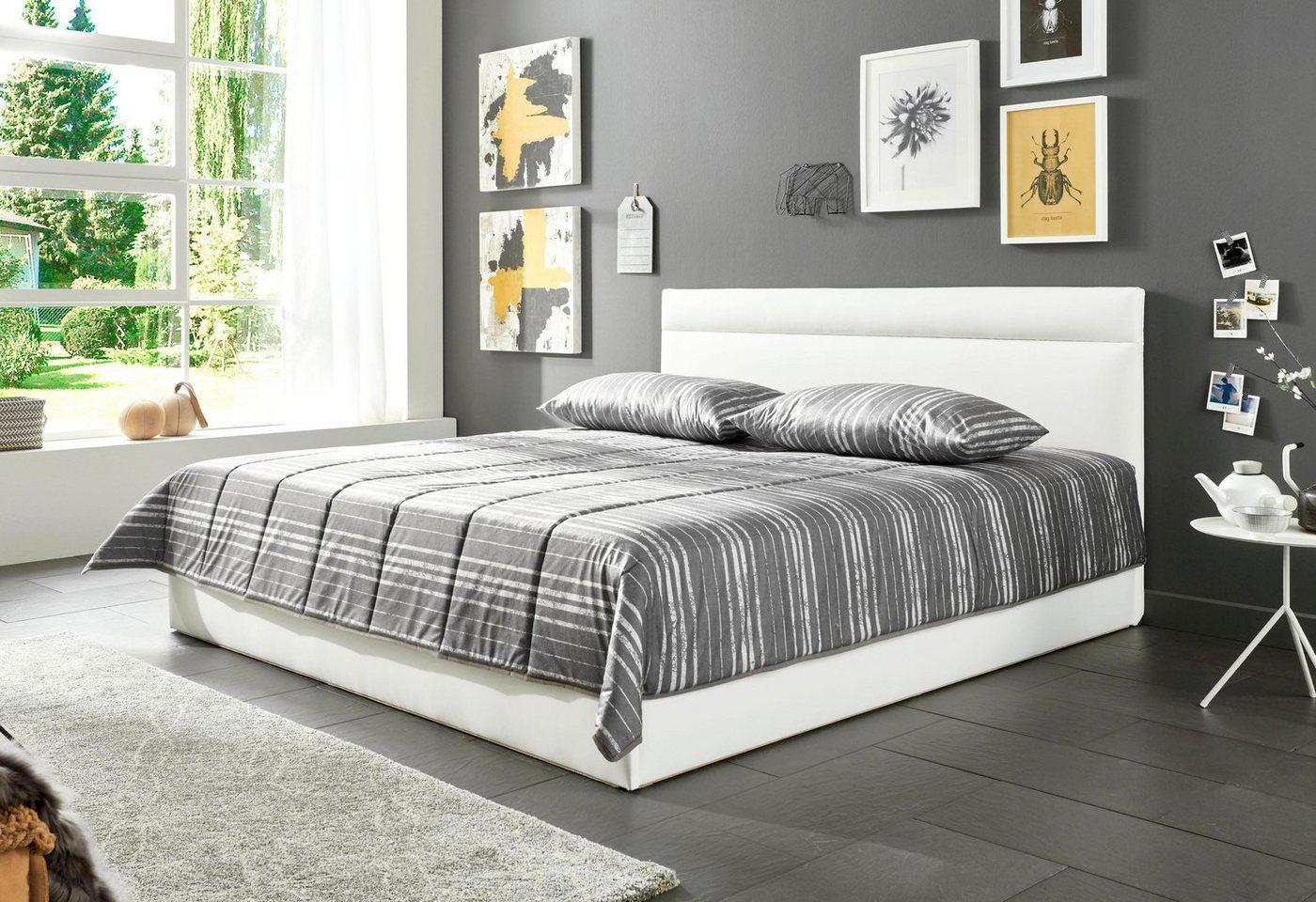 Westfalia Schlafkomfort Polsterbett In 2 Liegehohen Und Diversen Ausfuhrungen Wahlweise Mit Bettkasten