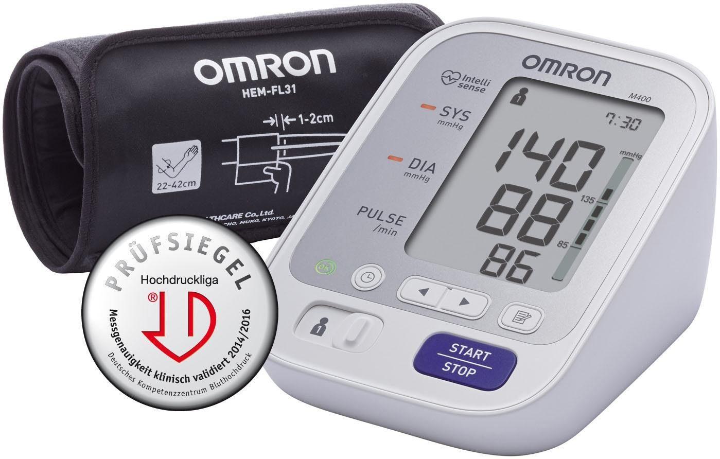 Omron Oberarm-Blutdruckmessgerät M400 (HEM-7134-D)