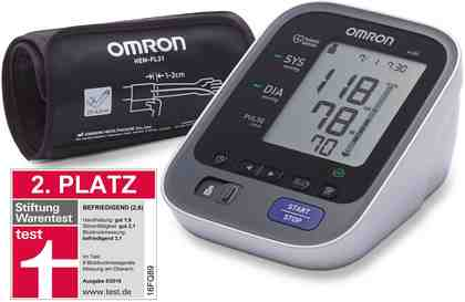 Omron Oberarm-Blutdruckmessgerät M500 (HEM-7321-D)