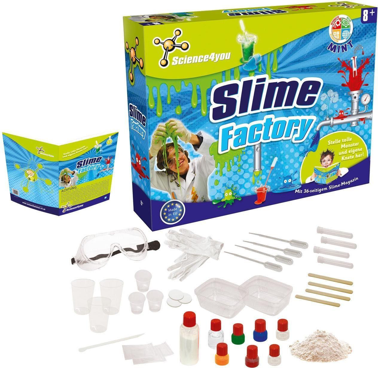 Science4you Experimentierkasten, »Slime Factory«