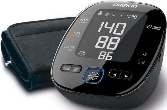 Omron Oberarm-Blutdruckmessgerät MIT5s (HEM-7280T-E), Vollautomatisches Blutdruckmessgerät