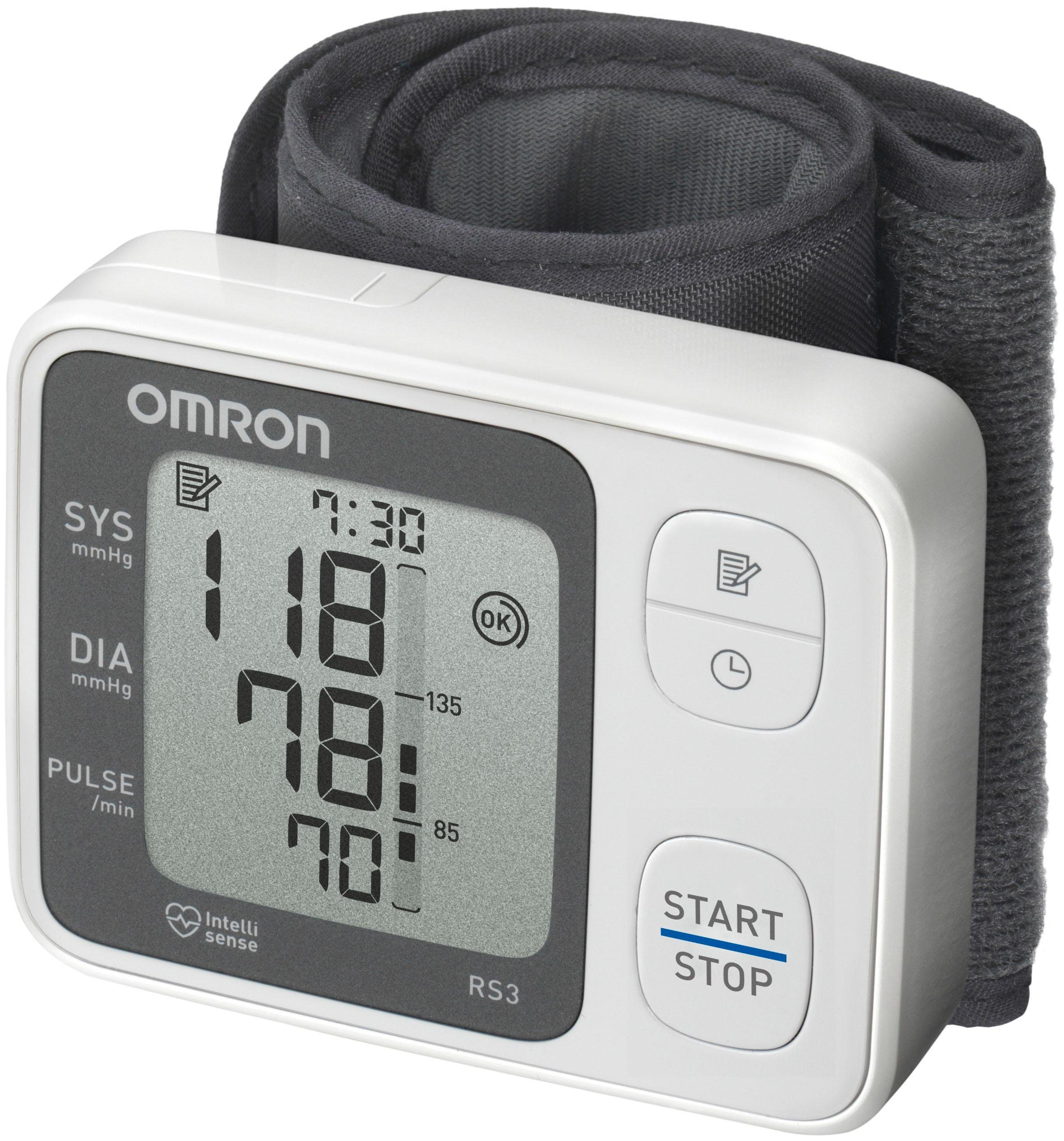 Omron Handgelenk-Blutdruckmessgerät RS3 (HEM-6130-D)