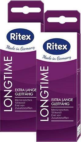 Ritex Gleit- & Massageöl »LongTime PLUS«, 2x60 ml