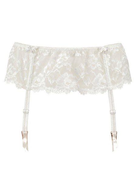 LASCANA Strapsgürtel aus edler Blüten-Jacquardspitze - ideal für die Hochzeit | Unterwäsche & Reizwäsche > Strapsgürtel | Lascana