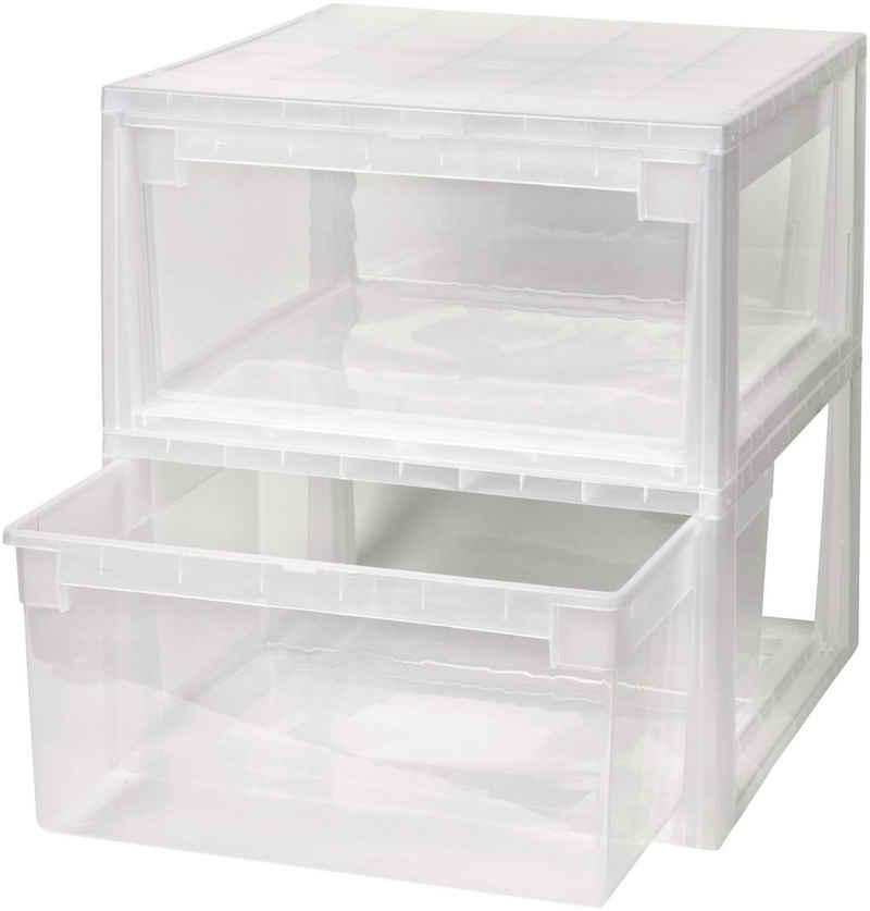 Kreher Aufbewahrungsbox (Set, 2 Stück), 23 l