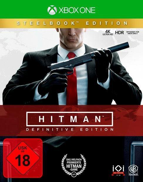 Hitman: Definitive Edition - Steelbook Xbox One