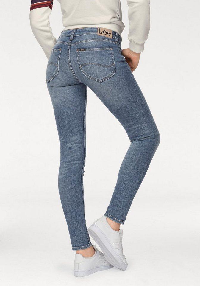Lee® Destroyed-Jeans »Scarlett« mit trendy Vintage-Details | Bekleidung > Jeans > Destroyed Jeans | Blau | Denim | Lee®