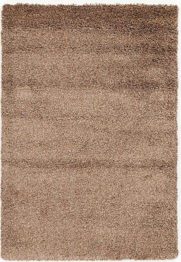 Hochflor-Teppich »Lobby Shaggy«, OCI DIE TEPPICHMARKE, rechteckig, Höhe 52 mm, Wohnzimmer