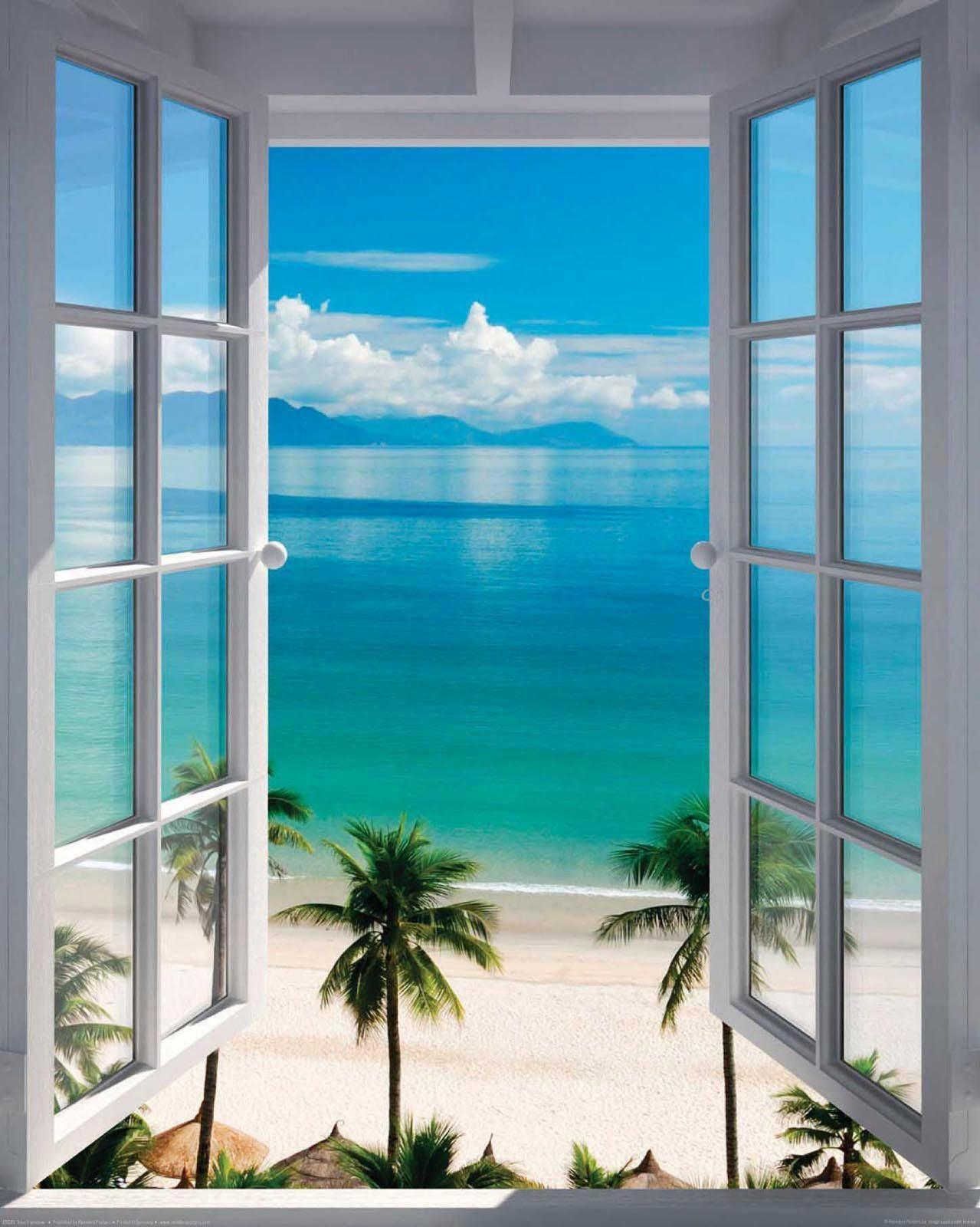 Deco-Panel »Zimmer mit Meerblick«