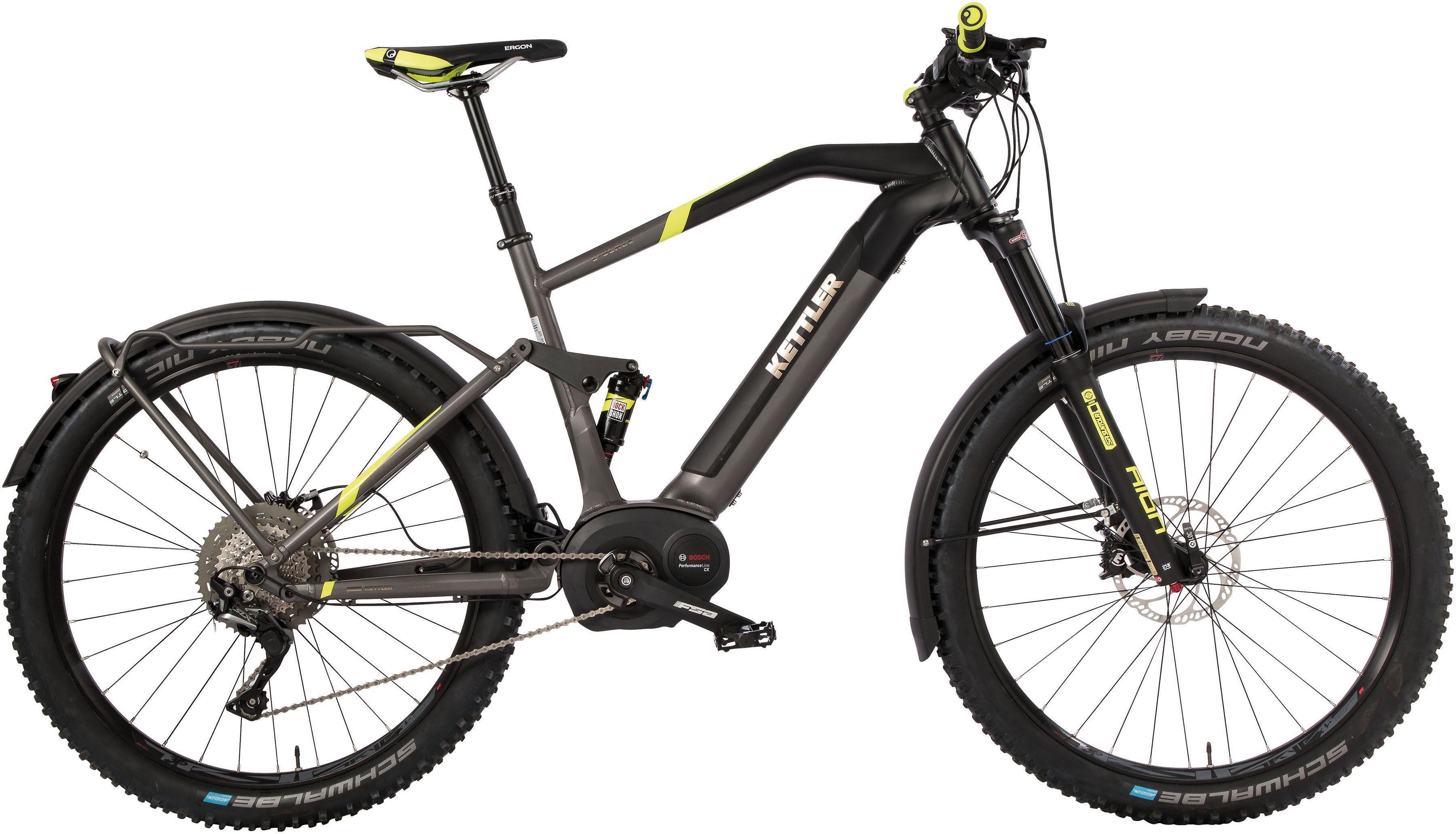 Kettler E-Bike »E-Blaze FS SUV«, 11 Gang Shimano SLX Schaltwerk, Kettenschaltung, Mittelmotor 250 W