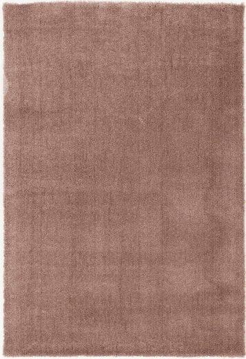 Hochflor-Teppich »Royal Uni«, OCI DIE TEPPICHMARKE, rechteckig, Höhe 30 mm, Besonders weich durch Microfaser, Wohnzimmer