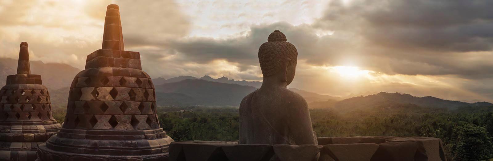 Home affaire Giclee on Canvas »Borobudur«