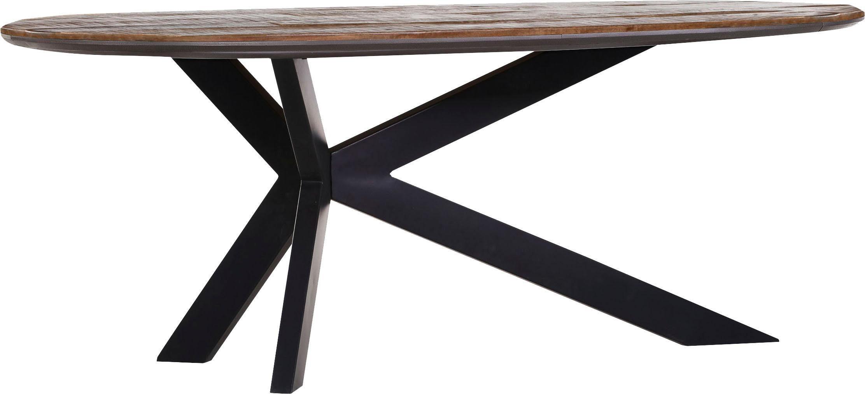 Gutmann Factory Esstisch mit Platte aus Mangoholz