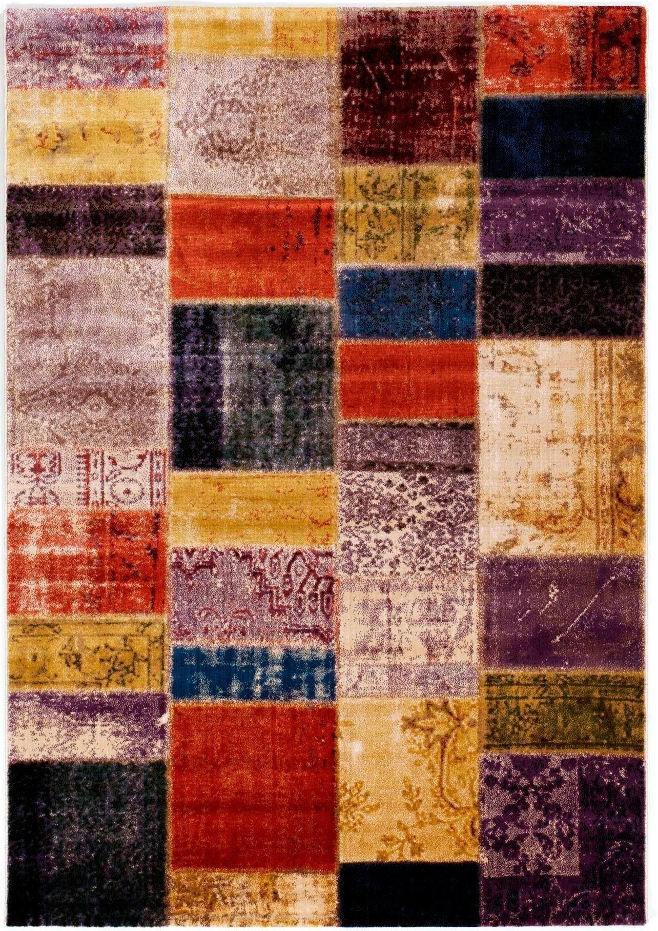 Teppich »MegaglancePlatino«, OCI DIE TEPPICHMARKE, rechteckig, Höhe 8 mm, Besonders weich durch Microfaser