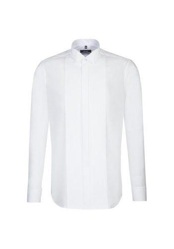 Herren seidensticker Smokinghemd Tailored Kläppchen-Kragen weiß | 04048869379000
