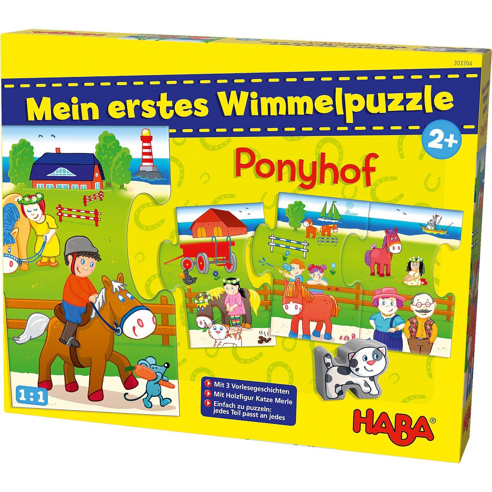 Haba Mein erstes Wimmelpuzzle - Ponyhof