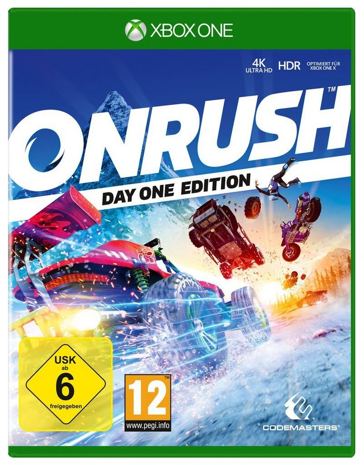 codemasters xbox one spiel onrush day one edition. Black Bedroom Furniture Sets. Home Design Ideas