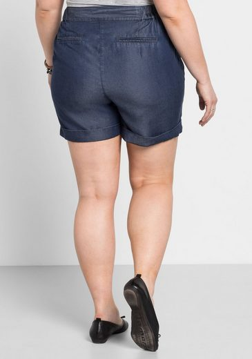 Denim Sheego Blue In Shorts optik 0w8knOPX