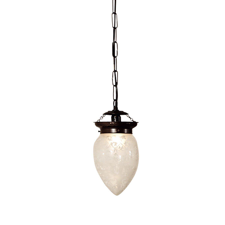 Loberon Hängelampe »Theda« | Lampen > Deckenleuchten > Deckenlampen | Glas - Messing | Loberon